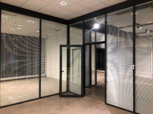 MB-80 OFFICE system ścian działowych z aluminium i szkła